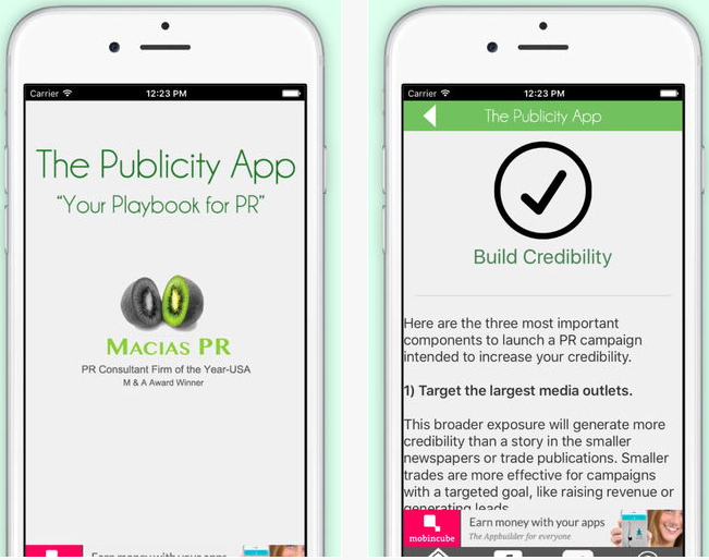 Top New York PR Agencies and PR Firms Get Competition from PR Mobile App